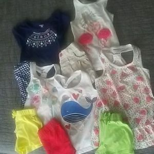 Girls Lot of Summer Play Clothes